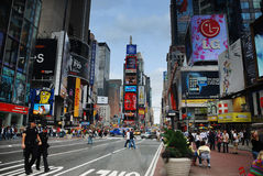 Times Square in New York City Royalty Free Stock Photography