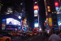 Times square - New York city. The famous Times square in New York City stock images