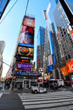 Times square new york city. A shot of times square area in new york city usa Royalty Free Stock Photo