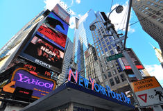Times Square New York City Photos libres de droits
