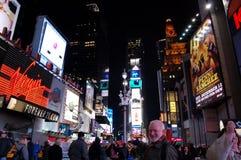 Times Square, New York City Imágenes de archivo libres de regalías