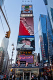 Times Square New York City. The colorful billboards at Times Square, New York City, United States Stock Photo