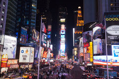 Times Square New York City Foto de Stock Royalty Free