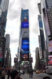Times Square, New York City. Times Square, Midtown manhattan in New York City, USA stock images