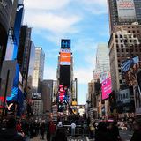 Times Square in New York City lizenzfreies stockfoto