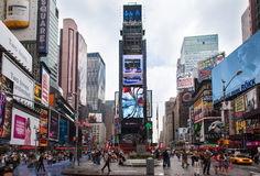 Times Square New York City Imagem de Stock Royalty Free