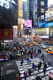 Times Square. New York City Arkivbilder