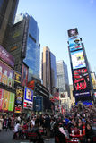 Times Square. New York City Image stock