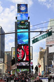Times Square. New York City Royaltyfria Foton