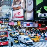 Times Square New York City Immagine Stock Libera da Diritti