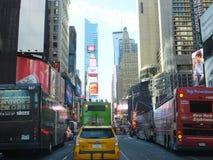 Times Square in New York City lizenzfreie stockbilder