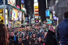 Times Square New York. New York city - Times Square royalty free stock photography