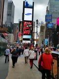 Times Square New York City Fotografie Stock Libere da Diritti