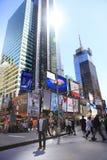Times Square New York City Imagen de archivo libre de regalías