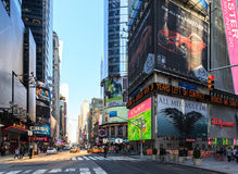 Times Square  New York City. Royalty Free Stock Photos