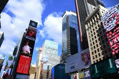 Times Square in New York City. stock photography