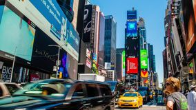 Times Square New York City Daytime Timelapse. stock video footage