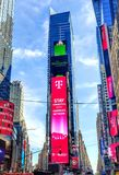 Times square new york city dividor royalty free stock photo
