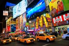 Times Square, New York City, Etats-Unis. Photographie stock
