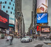 Times Square New York City, Manhattan Arkivfoton
