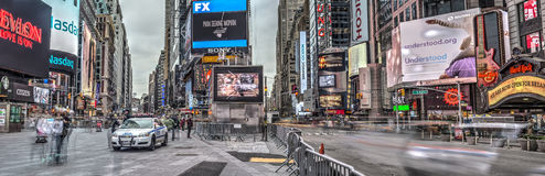 Times Square New York City, Manhattan Arkivbilder