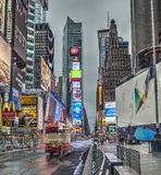 Times Square New York City, Manhattan Arkivbild