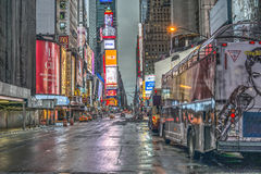 Times Square New York City, Manhattan Royaltyfri Bild