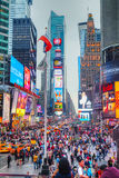 Times square in New York City Royalty Free Stock Image