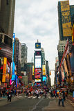 Times square in New York City Stock Photography
