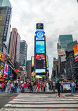 Times square in New York City Royalty Free Stock Photo