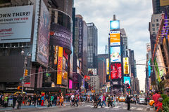 Times square in New York City Stock Photo