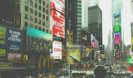 The city that never sleeps royalty free stock images