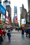 Times Square in New York City, NY USA Royalty Free Stock Photo