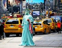 Times Square, New York City, NY, USA stockbilder