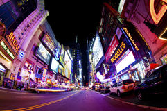 Times Square. NEW YORK CITY - SEPT 22: Times Square and 42nd Street  is a busy tourist intersection of neon art and commerce and is an iconic street of New York Stock Photo