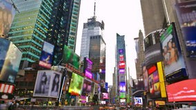 Times Square stock video