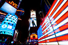 Times Square, New York City, USA. Royalty Free Stock Photo