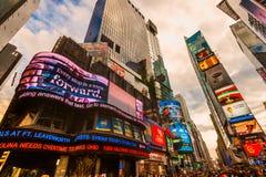 Times Square, New York City, USA. Royalty Free Stock Photo