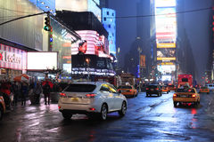 Times Square. New York City Stock Photos