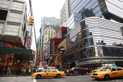 Times Square. New York City Royalty Free Stock Photo