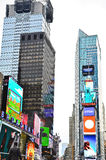 Times Square in New York City stock photos