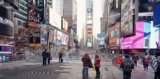 Times Square New- York Citymanhattan Lizenzfreies Stockfoto