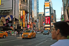 Times Square, New York City. USA Stock Photo