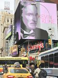 Times Square in New York. Times Square in Manhattan, New York royalty free stock photos