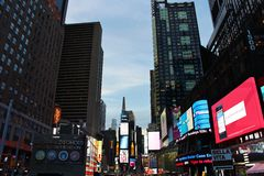 Times Square, New York. Night Lights in Midtown, New York stock images