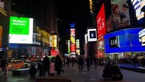 TIMES SQUARE NEW YORK 2019 stock photos