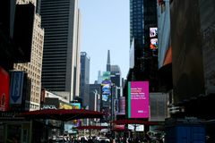 Times Square in New York royalty free stock photography