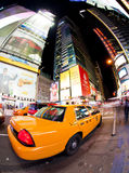 Times Square. NEW YORK - SEPT 22: Times Square and 42nd Street is a busy tourist intersection of neon art and commerce and is an iconic street of New York City Stock Image