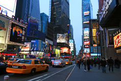 Times Square New York USA Stock Photo