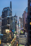 Times Square in New York. New York, USA on 2nd Sept 2015:Times Square is a major commercial intersection and neighborhood in Mid Manhattan at the junction of Royalty Free Stock Photo